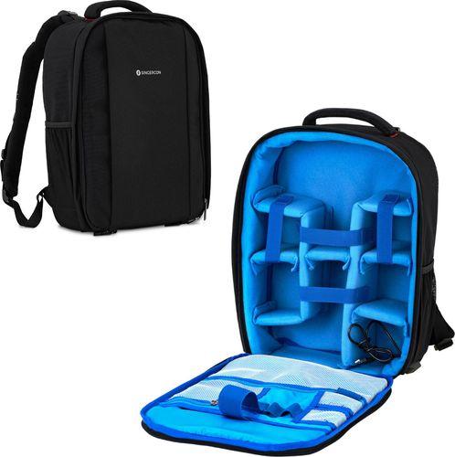 Plecak SINGERCON Plecak Fotograficzny Na 2 Aparaty 5 Obiektywów Akcesoria Do 30 Kg