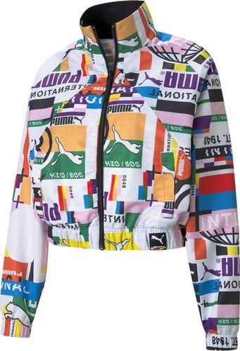 Puma Puma WMNS Printed Woven Track bluza 02 : Rozmiar - M