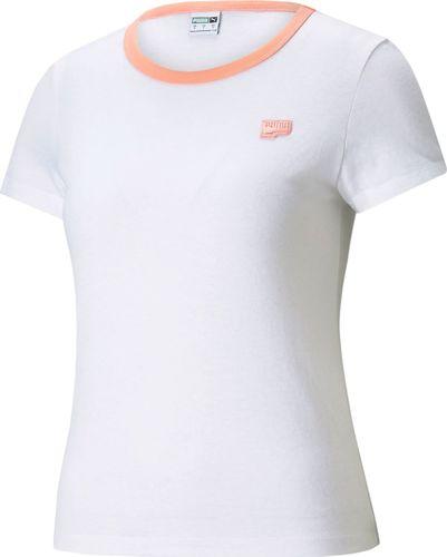 Puma Puma WMNS Downtown Small Logo t-shirt 02 : Rozmiar - XS