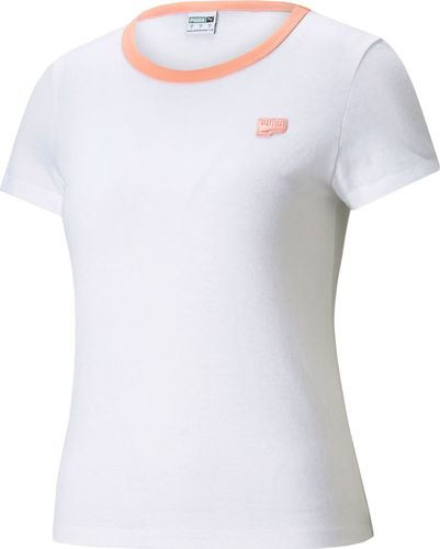 Puma Puma WMNS Downtown Small Logo t-shirt 02 : Rozmiar - M