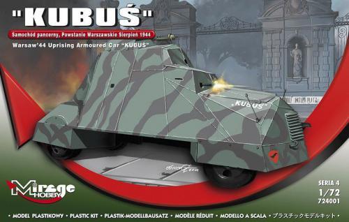 """Mirage Samochód pancerny """"Kubuś"""""""