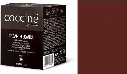 Coccin PASTA DO BUTÓW KREM SKÓRY GŁADKIEJ CREAM ELEGANCE TRENDY BROWN 50 ML