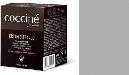 Coccin PASTA DO BUTÓW KREM SKÓRY GŁADKIEJ CREAM ELEGANCE SREBRNY 50 ML