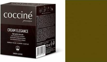 Coccin PASTA DO BUTÓW KREM SKÓRY GŁADKIEJ CREAM ELEGANCE OLIWKOWY 50 ML