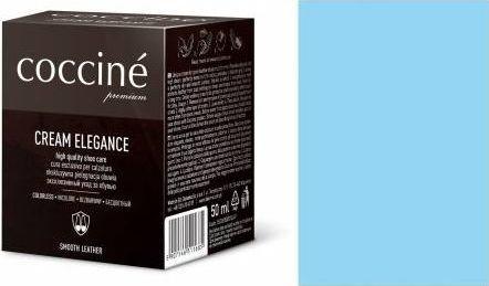 Coccin PASTA DO BUTÓW KREM SKÓRY GŁADKIEJ CREAM ELEGANCE BŁĘKITNY 50 ML