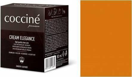 Coccin PASTA DO BUTÓW KREM SKÓRY GŁADKIEJ CREAM ELEGANCE SKÓRA NATURALNA 50 ML
