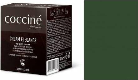 Coccin PASTA DO BUTÓW KREM SKÓRY GŁADKIEJ CREAM ELEGANCE CIEMNY ZIELONY 50 ML
