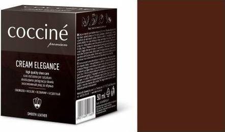 Coccin PASTA DO BUTÓW KREM SKÓRY GŁADKIEJ CREAM ELEGANCE CZEKOLADA 50 ML