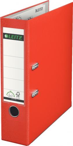 Segregator Leitz A4 80mm czerwony (4002432316977)