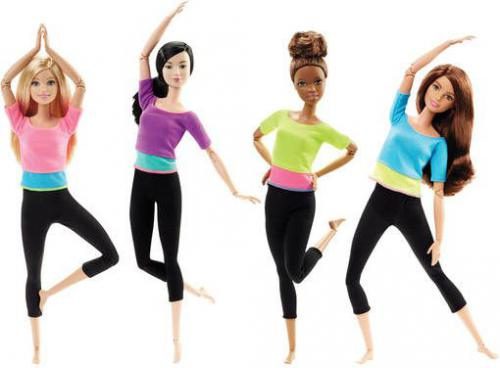 Mattel Barbie Made to move  DHL81 ( losowa )