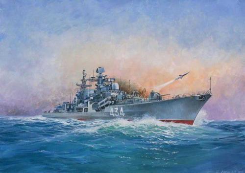 Zvezda Russian Destroyer Sovremenny (MZV-9054)