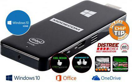 Komputer MODECOM FreePC Portable - (PC-MC-FREEPC-32GB-WIN10-G2)