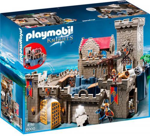 Playmobil Zamek Króla herbu Lwa 6000