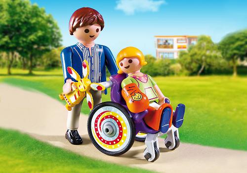 Playmobil Dziecko na wózku (6663)