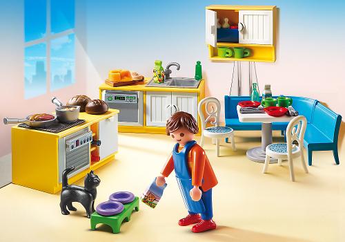 Playmobil Kuchnia z kącikiem jadalnym (5336)