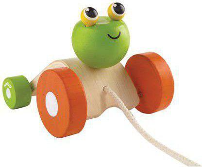 Plan Toys Żabka do ciągnięcia (PLTO-5702)