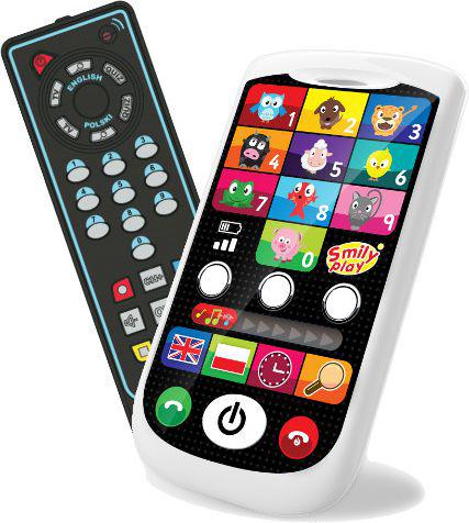 Smily Zestaw smartfonik i pilot TV - S13930