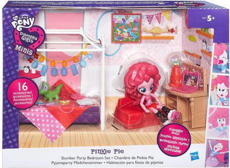 Hasbro My Little Pony Equestria Girls Mini piżamowe party Pinkie Pie (B8824)