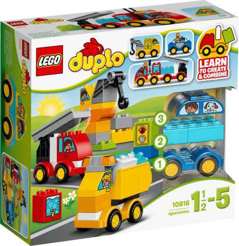 LEGO Duplo Moje pierwsze pojazdy - 10816