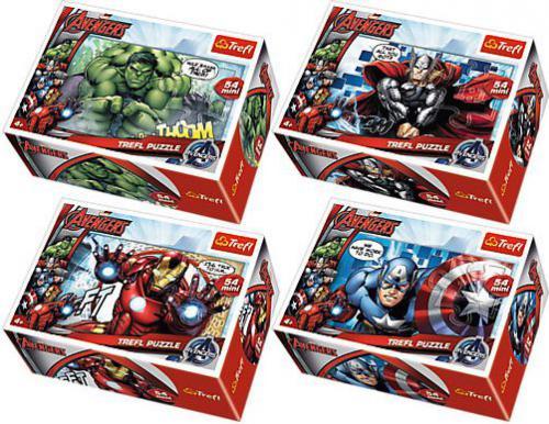 Trefl 54 EL. Mini40szt. Avengers (54140)