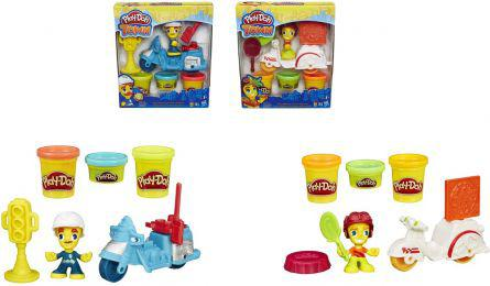 Hasbro Play-Doh Town - Mini pojazdy WB4 (B5959)