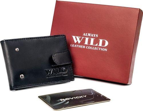 Always Wild Etui na karty kredytowe z cielęcej skóry Always Wild
