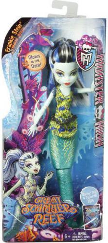 Mattel MONSTER HIGH Podwodne straszyciółki DHB57/DHB55