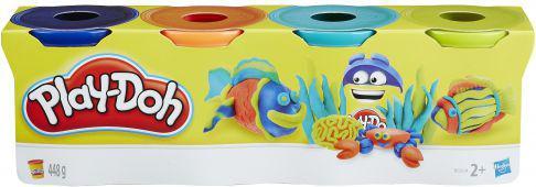 Hasbro Play-Doh  TUBA 4-PAK B5517