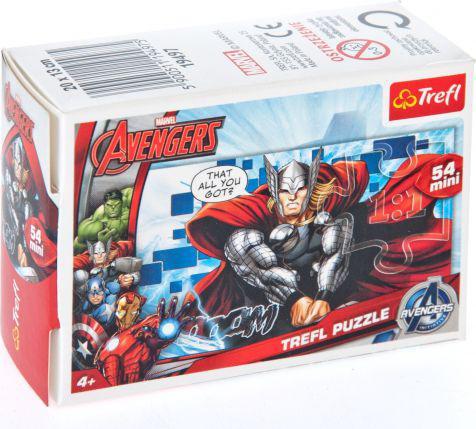 Trefl 54 Drużyna Avengers: Thor - Puzzle Mini (19497)