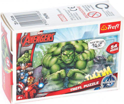 Trefl 54 Drużyna Avengers: Hulk - Puzzle Mini (19496)