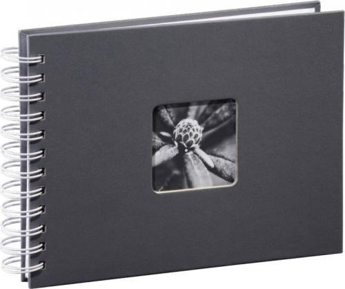 Hama Fine Art Spiral grey 24x17 50 white Pages (2111)