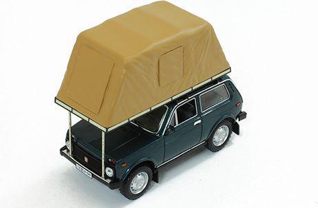 Ixo Lada Niva with Roof Tent 1981 - IST296MR