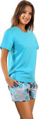 Sesto Senso piżama damska 2498/09 100% Bawełna z kieszeniami Sesto Senso L