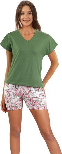Sesto Senso piżama damska 2508/11 100% Bawełna z kieszeniami Sesto Senso L