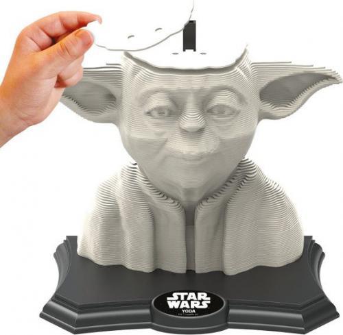 Educa Puzzle 3D Rzeźba Yoda