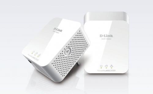 d link powerline av2 2000 hd gigabit starter kit dhp 701av e w. Black Bedroom Furniture Sets. Home Design Ideas