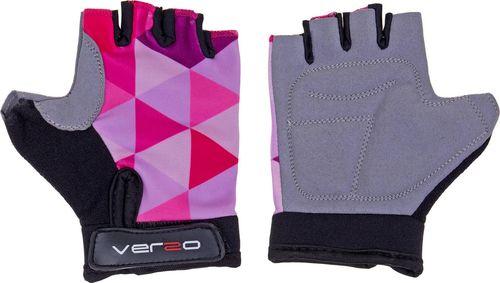 VERSO Rękawiczki rower dziecięce Verso SB-01-8805 A różowe S