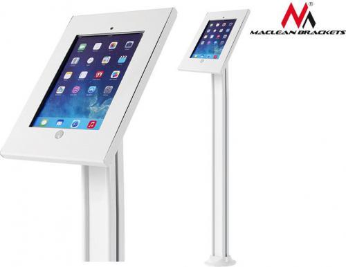Stojak Maclean Reklamowy, podłogowy z blokadą dla iPad 2/3/4/Air/Air2 (MC-678)