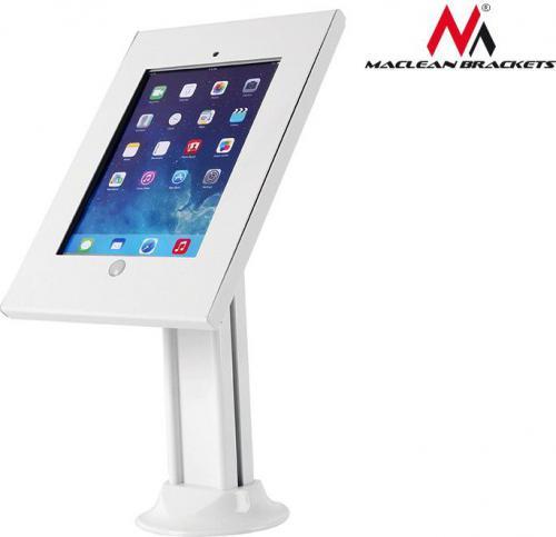 Stojak Maclean Reklamowy, biurkowy z blokadą dla iPad 2/3/4/Air/Air2 (MC-677)