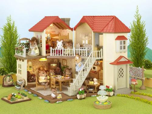 Figurka Epoch Sylvanian Families Miejski domek z oświetleniem - 2752