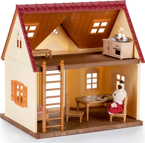 Figurka Epoch Sylvanian Families Przytulny domek wiejski - zestaw startowy - (5242)