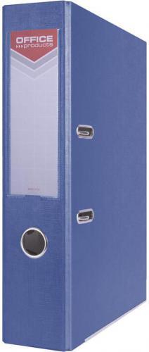 Segregator Office Products Officer dźwigniowy A4 75mm niebieski (5901503650721)
