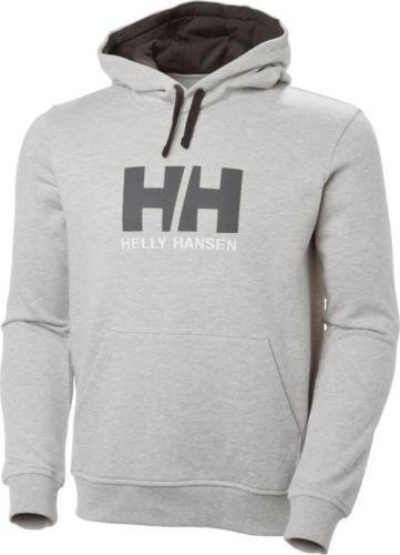 Helly Hansen Bluza męska Logo Hoodie Grey Melange r. L (33977-950)