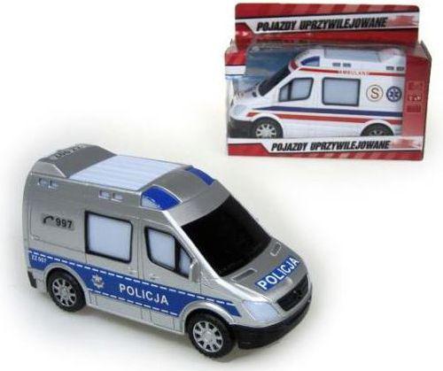 Hipo Autko policja, pogotowie 20cm na baterie  - HXBF13