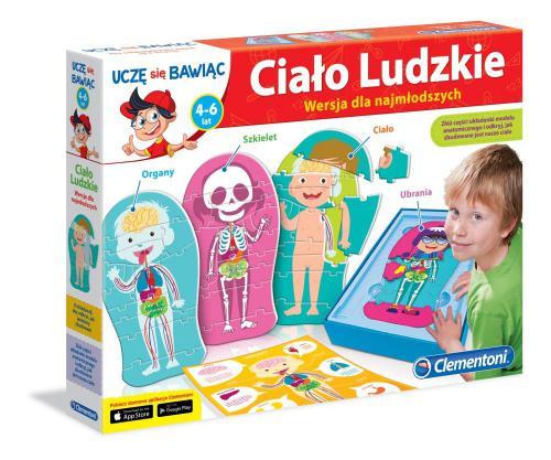 Clementoni Ciało ludzkie dla najmłodszych - 60931