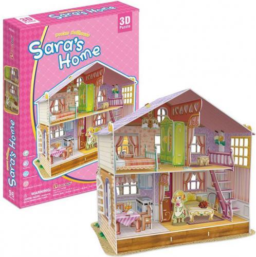 Dante Puzzle 3D Sara's Home Domek dla lalek - (306-20678)