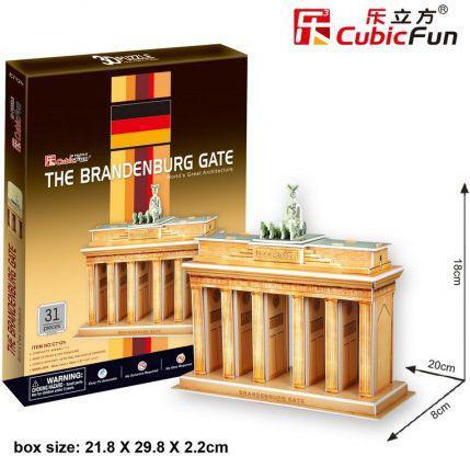 Dante Puzzle 3D The Branderburg Gate  -( 306-01060)