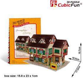 Dante Puzzle 3D Domki świata-Niemcy. Grocery shop - (306-23127)
