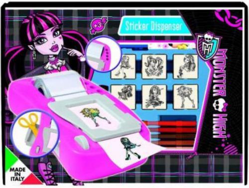 Dante Pieczątki z naklejkami Monster High - (043-8869)