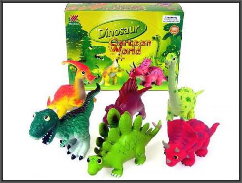 Hipo Dinozaury zabawne 26cm. p6 HIPO HWC024